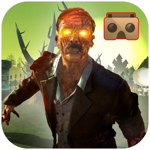 Vr Skelton Grave Land : New 3D horror Game icon