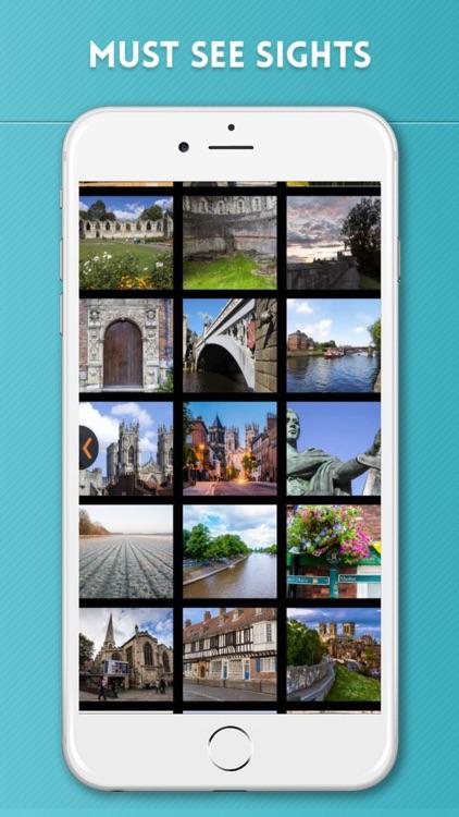 York Travel Guide with Offline City Street Map screenshot-3