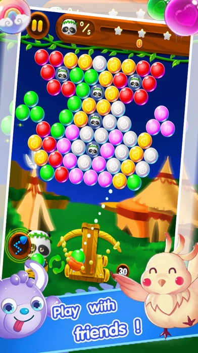 Candy Shooting Bear screenshot one
