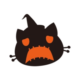 Pumpkin Cat Halloween Sticker
