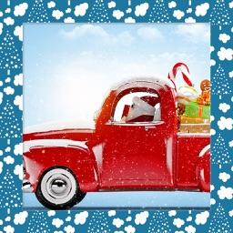 Santa Hd Frames - Art Photo frame