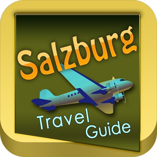 Salzburg Offline Map Travel Guide