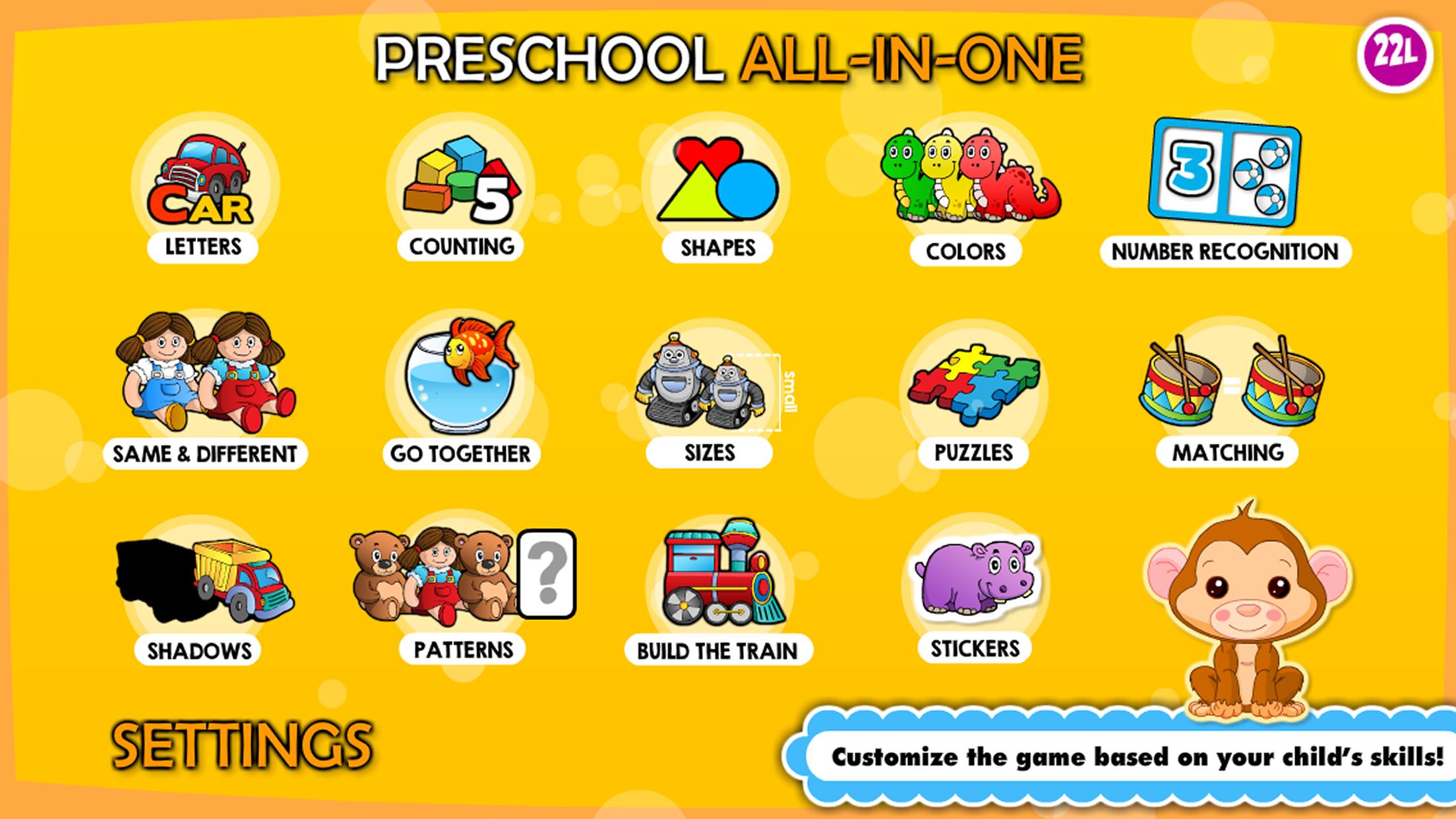 Preschool! & Toddler kids learning Abby Games free Screenshot