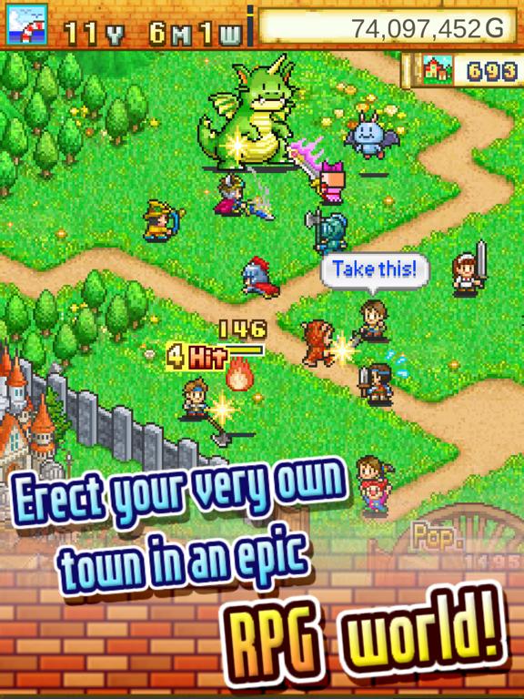 Dungeon Village на iPad