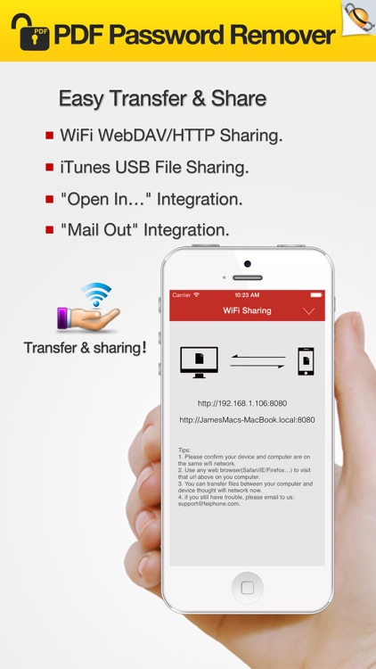 PDF Password Remover - Remove PDF Password screenshot-4