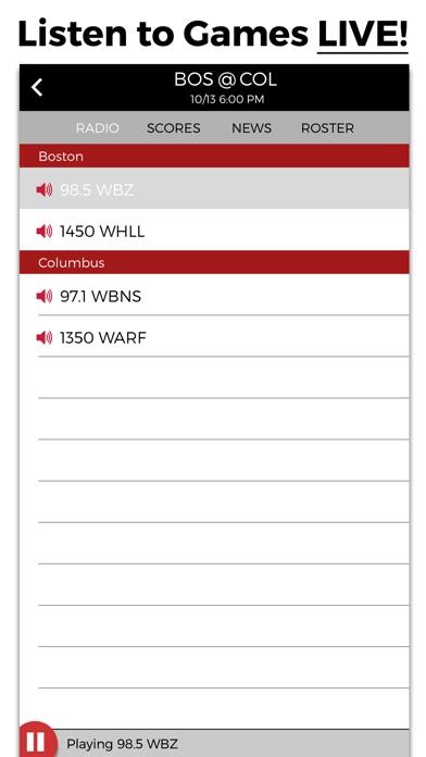 Screenshot for Hockey Radio in Viet Nam App Store