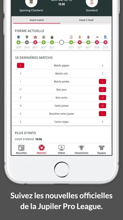 Jupiler Pro League - official app screenshot-3