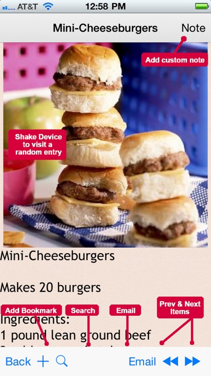 300 Burger Recipes screenshot-2