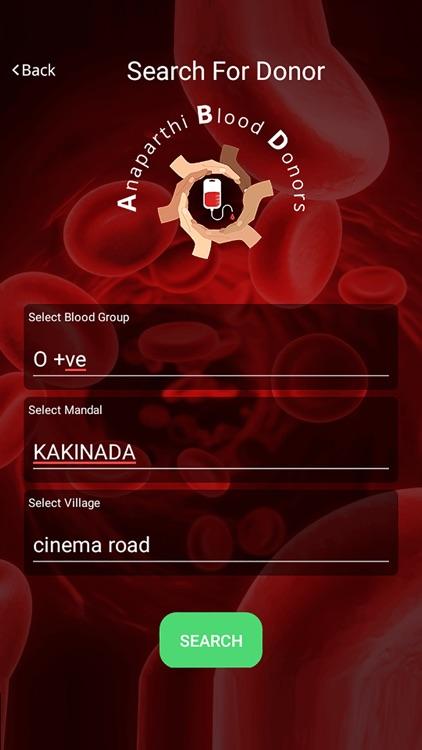 ANAPARTHI BLOOD DONORS screenshot-3