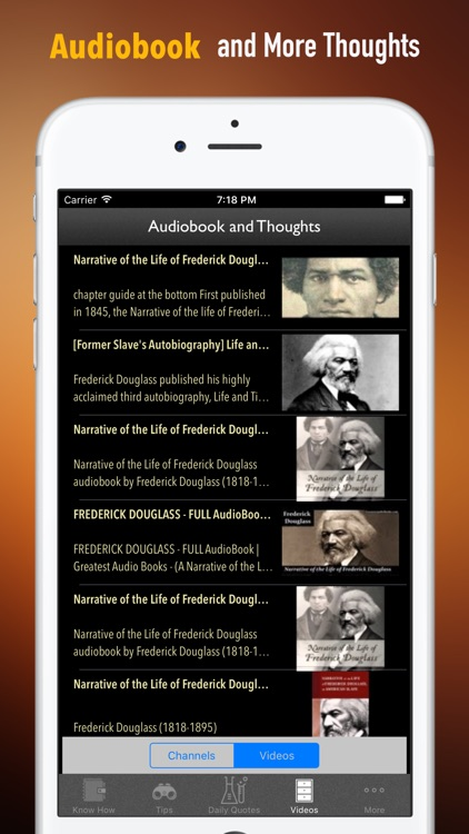 Quick Wisdom from Life of Frederick Douglass by Xi Zhang