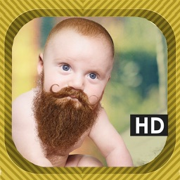Beard Photo Booth & Mustache Camera HD Montage