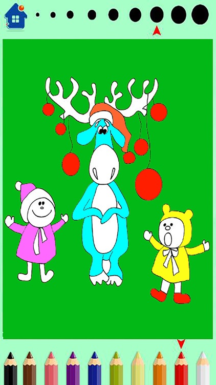 Family farm Animals Coloring Book