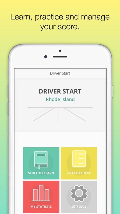 Rhode Island DMV - RI Driver Licens knowledge test