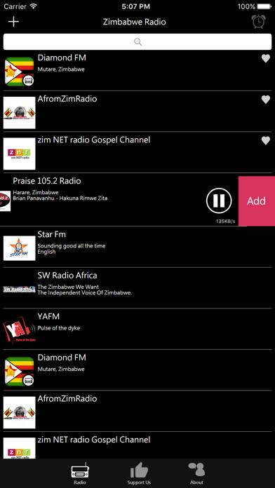 Zimbabwean Radio screenshot four