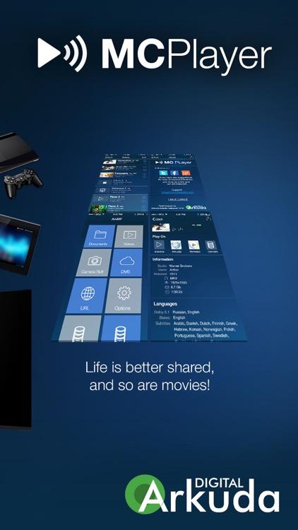 MCPlayer Pro wireless UPnP video player for iPhone, stream movies on HD TV screenshot-4