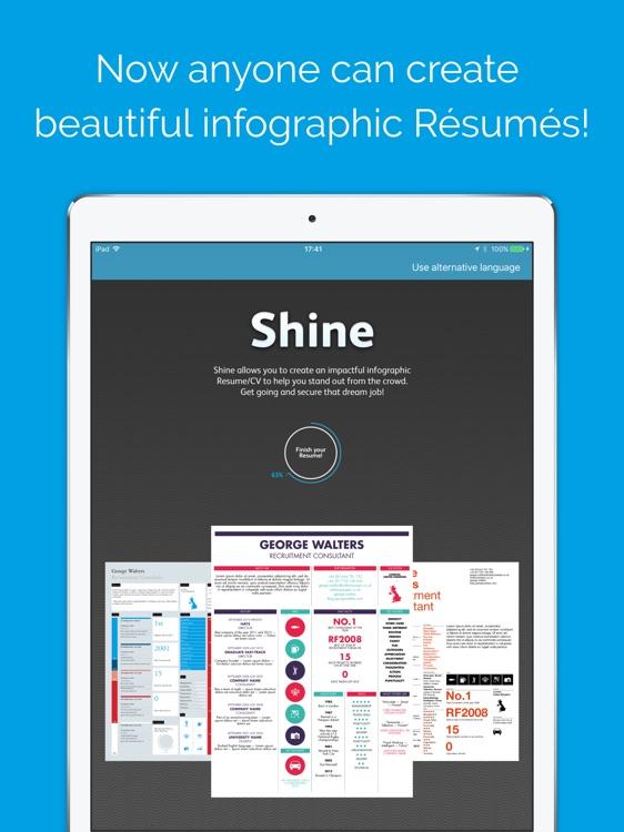 Shine - Resume Designer