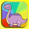 Dinosaur Coloring Book Game For Kids 3