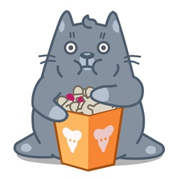 Cat Animation Sticker 3