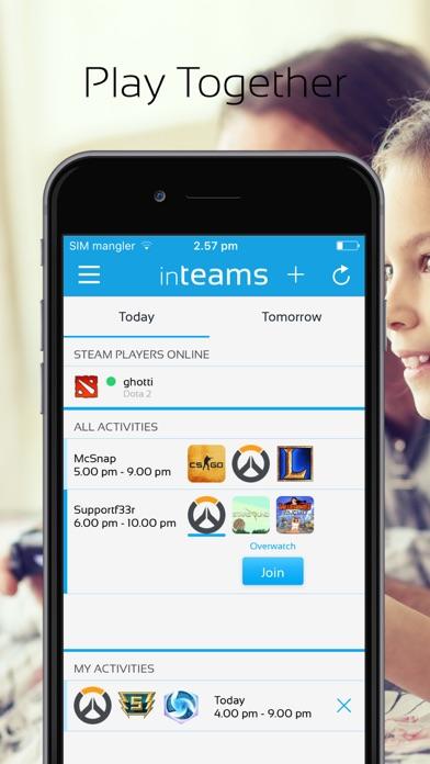 inTeams Screenshot on iOS