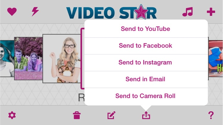 Video Star app image