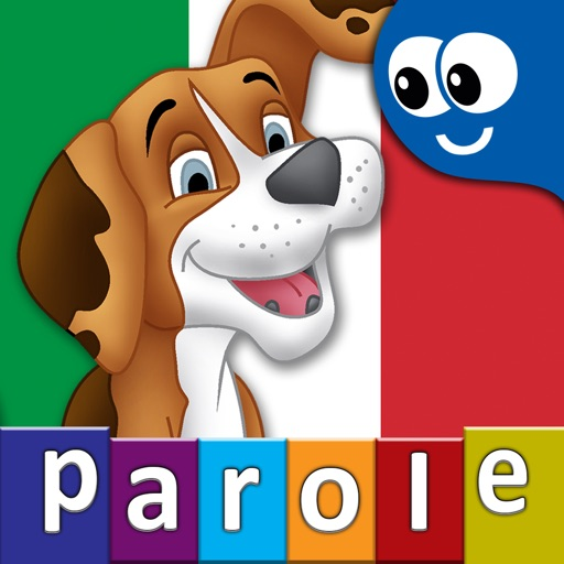 Italian First Words with Phonics: Kids Preschool Spelling & Learning Game