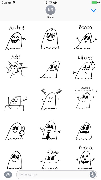 Ghostmoji Doodles