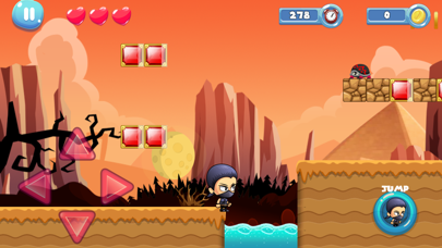 ninja jungle adventure imagination game screenshot two