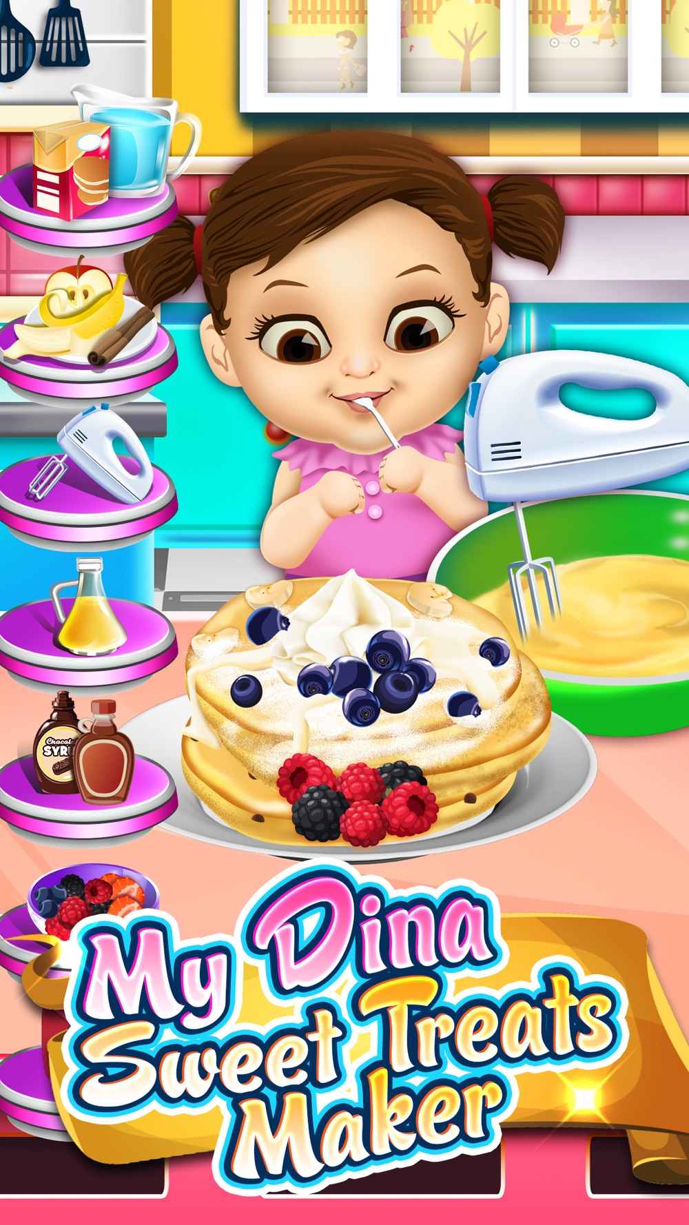 My Dina Food Maker Cooking Kids Games Free Cheat Codes