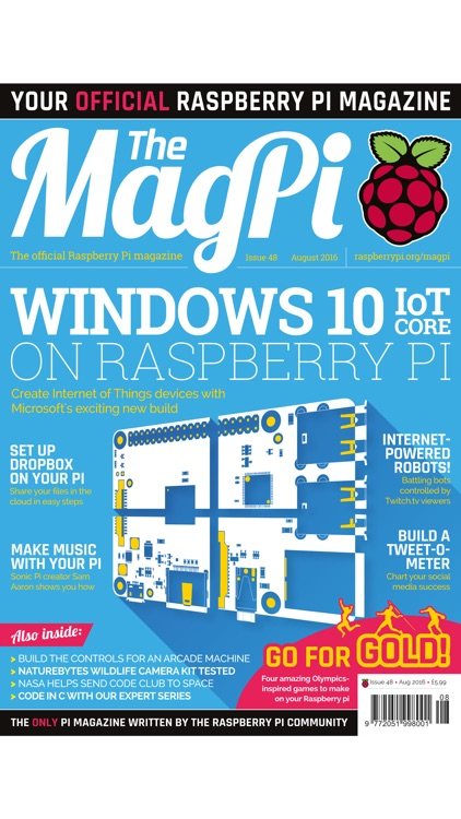 The MagPi: the official Raspberry Pi magazine