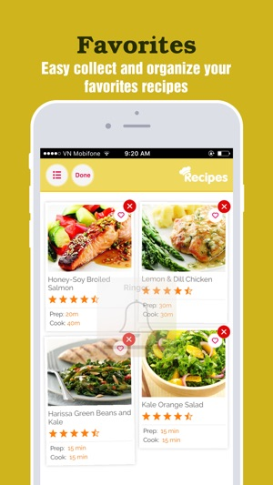 Heart healthy recipes pro best food for heart on the app store forumfinder Images