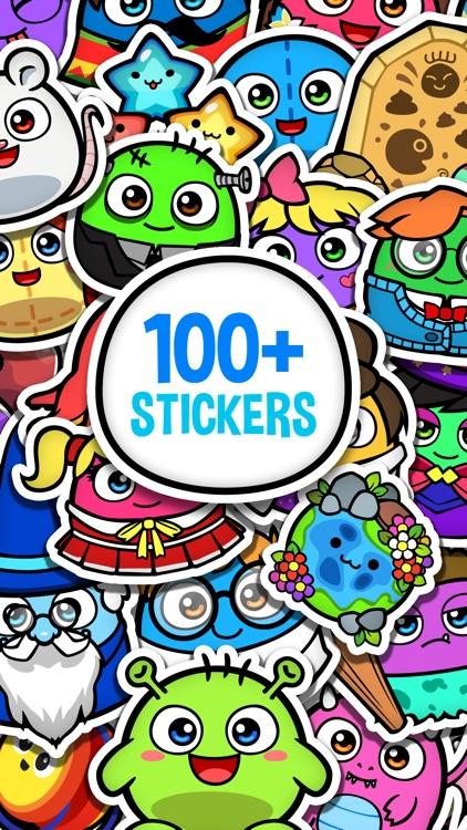 My Boo Album - Virtual Pet Sticker Book for Kids screenshot-3