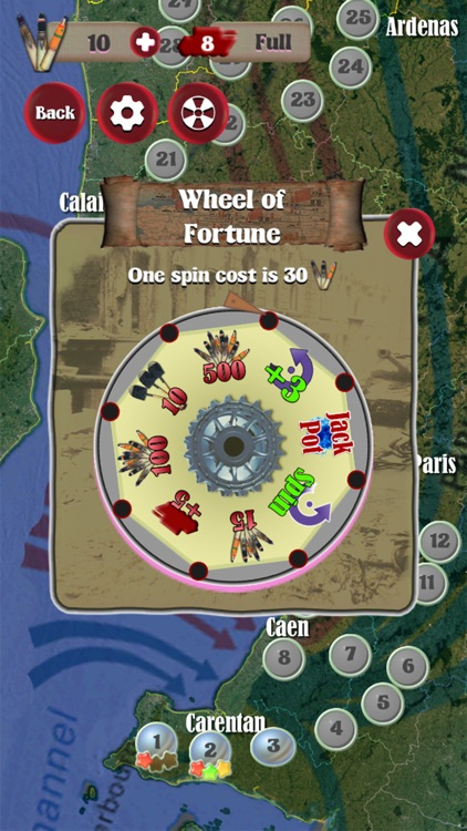 World War II - Tanks Match Three screenshot-3