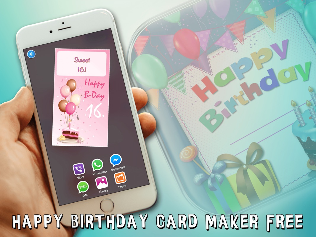 3 Minutes To Hack Happy Birthday Card Maker Freebday Greeting Cards