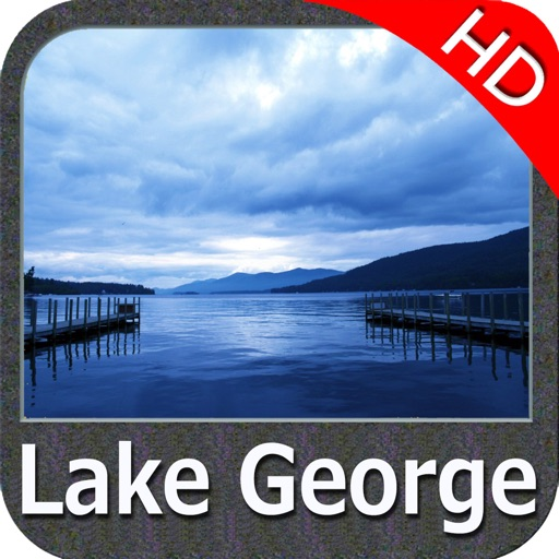 Lake George New York HD GPS fishing chart offline