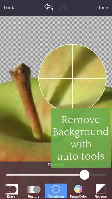 Background Eraser: superimpose Screenshot