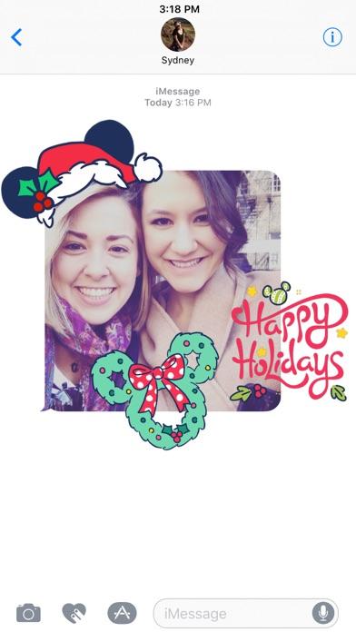 Disney Stickers: Holiday Cheer