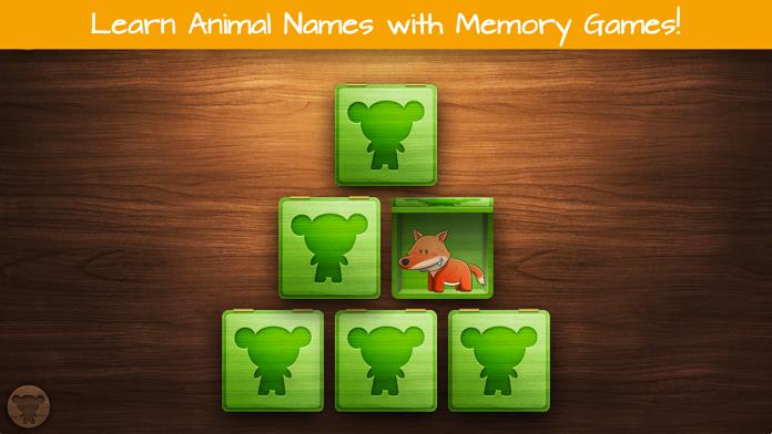 Educational Animal Games Screenshot