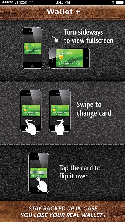 WalletPlus : Wallet on iPhone screenshot-3