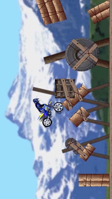 极限摩托车越野障碍特技比赛 App 截图