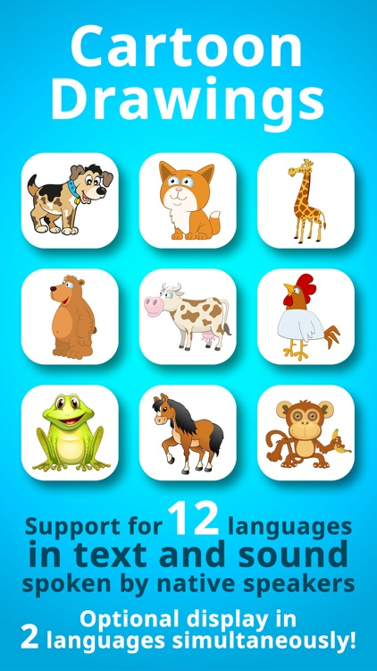 Animals for Babies & Toddlers Free Flashcards