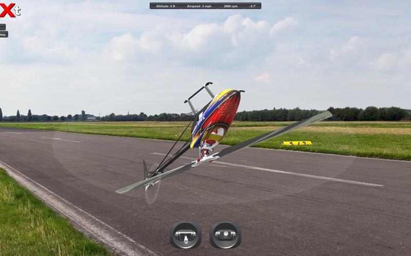 Screenshot #1 pour CGM rc Heli Simulator