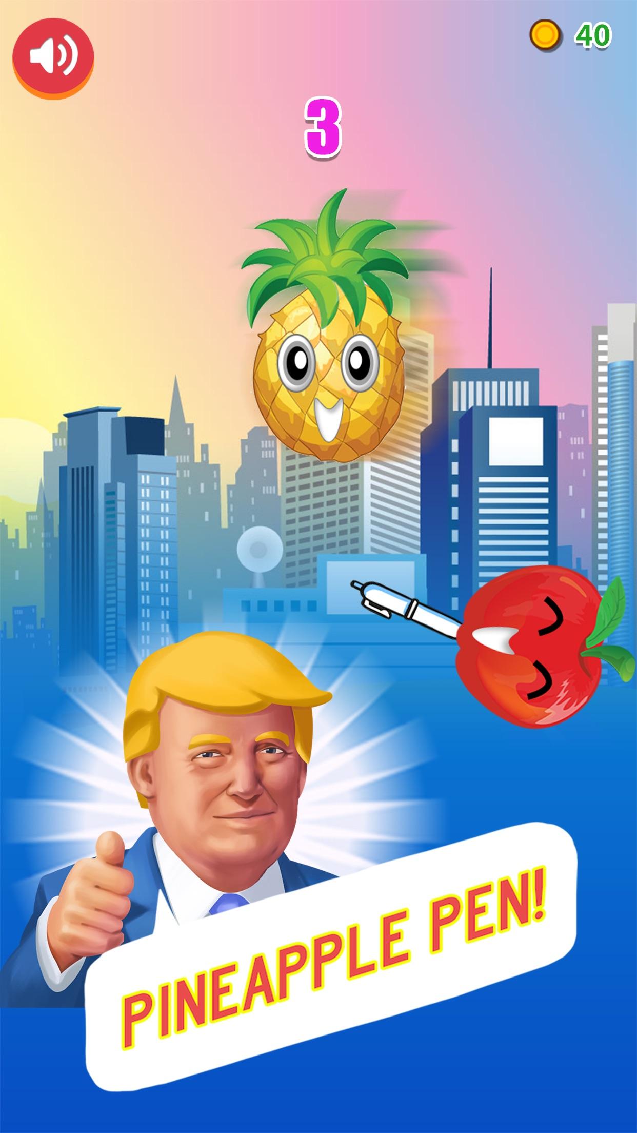 Trump Pineapple Pen Long Challenge - I have a pen Screenshot