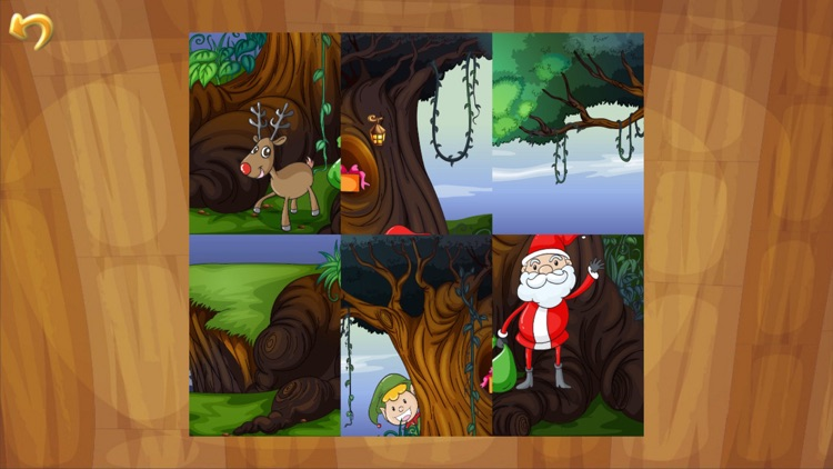 Christmas Games: Santa Claus Puzzle for Kids screenshot-3