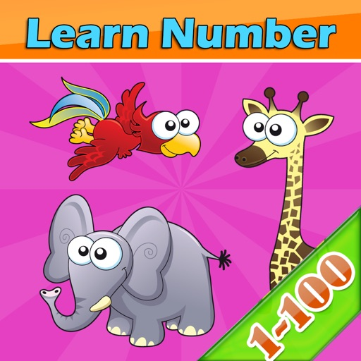 Learn Numbers 1 to 100 Free Educational games iOS App