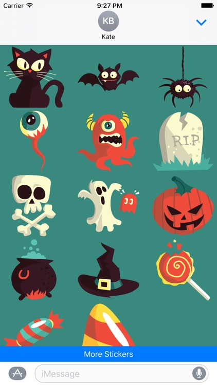 Scary Halloween Sticker Pack