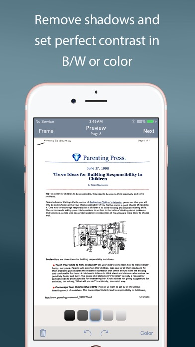 TurboScan: quickly scan multipage documents into high-quality PDFs Screenshot 3