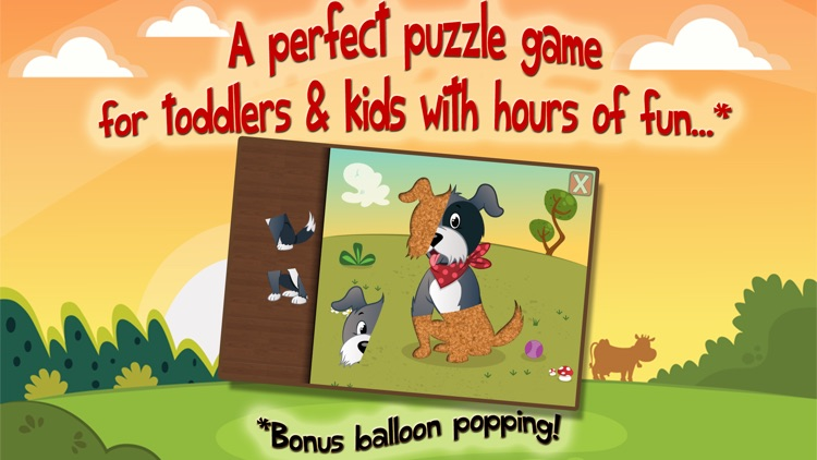 Animal Puzzles for Kids - Educational Edition