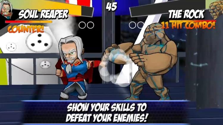 Superheroes Shadow Battle screenshot-4