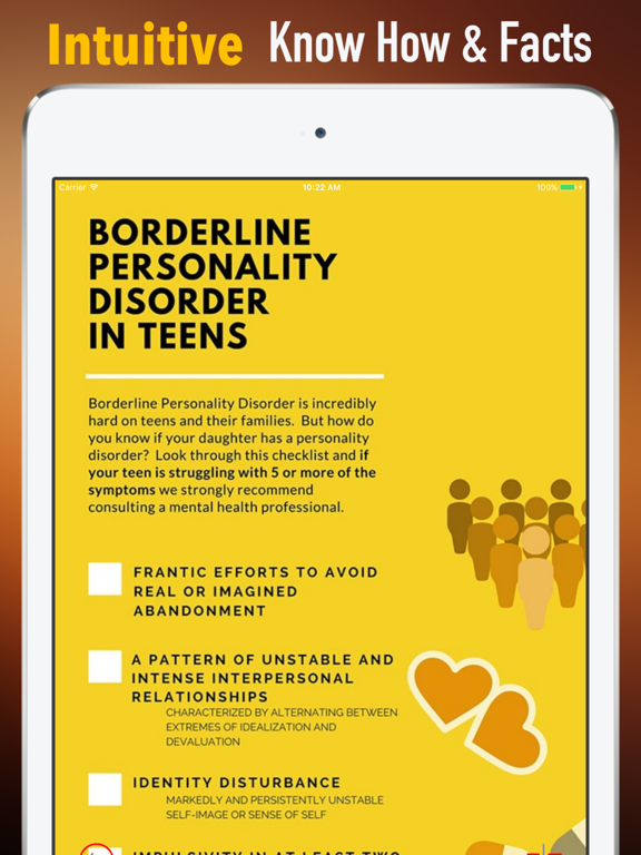Borderline Personality Disorder (BPD)Self Help | App Price Drops