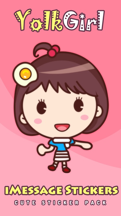 Yolk Girl Pro - Cute Stickers by NICE Sticker